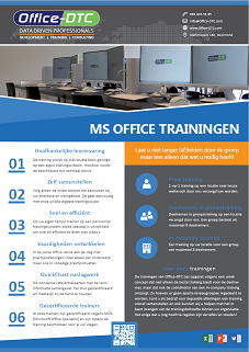 Microsoft Office Trainingen Leaflet